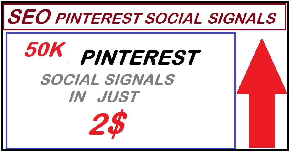 Super offer High PR9 50,000 pinterest seo social signals bookmarks