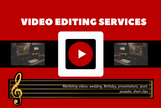 I Will Edit Any Video Profesionally For Social Network, Youtube BEST VIDEO EDITOR