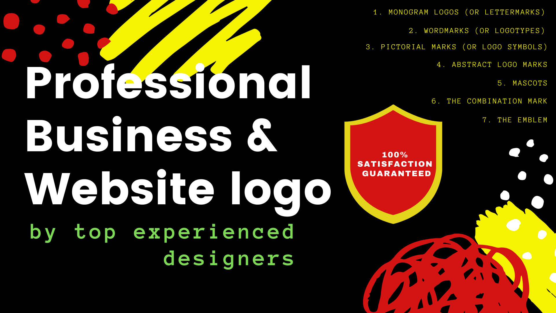 I will design a professional business/Website logo