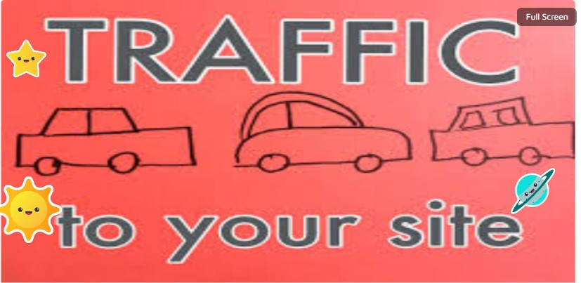 Get The Traffic 30days For Websites, Amazon, Online Store, affiliate marketing Traffic By Google.
