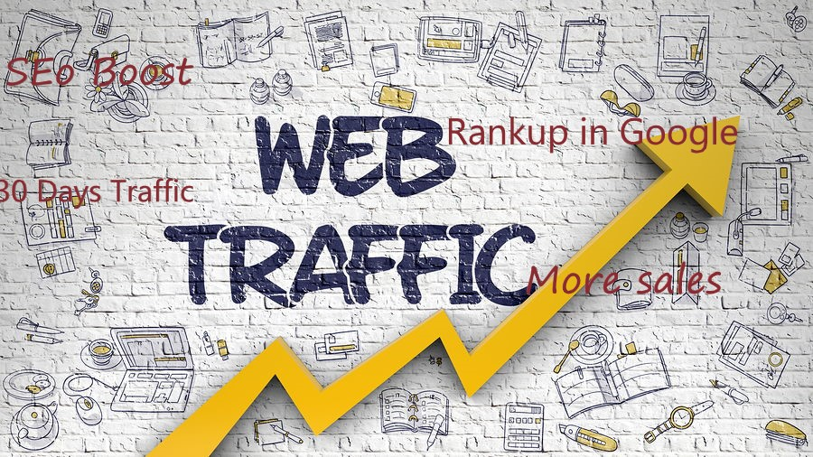 Get Real Human Traffic From Social Media 30days to your Website