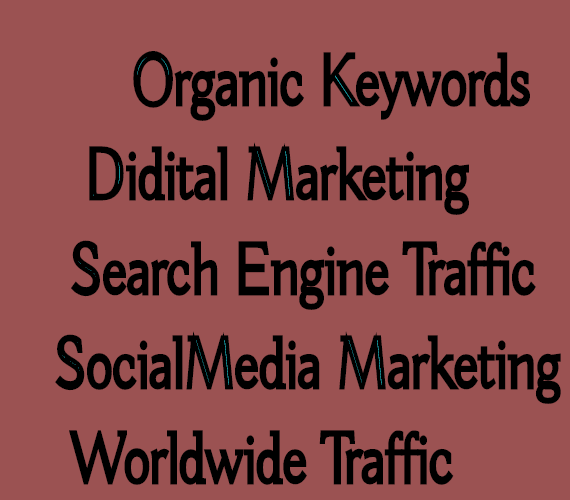 Get Real WorldWide Traffic 60 Days with Search Keywords Digital Marketing By Google,  Youtube, Twitter