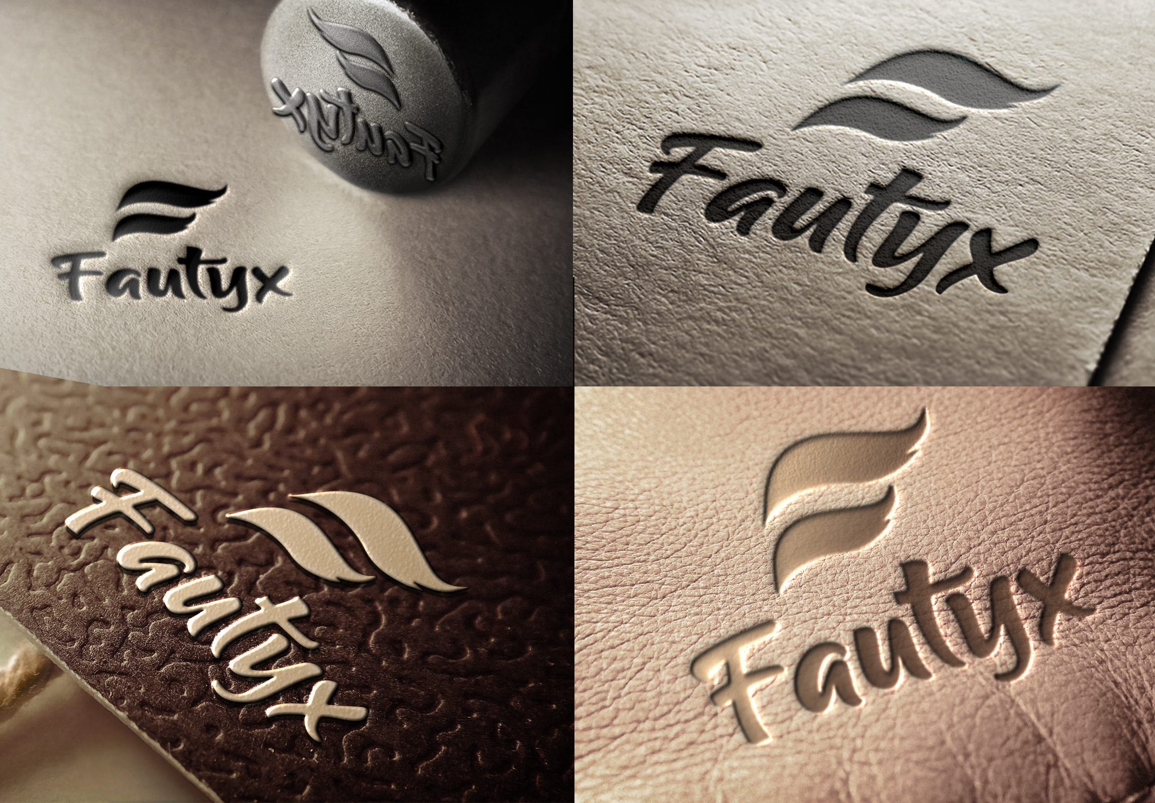 Iwill create an epic Photorealistic 3d logo mockups