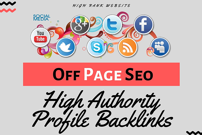 I will build 100 high authority profile backlinks Seo