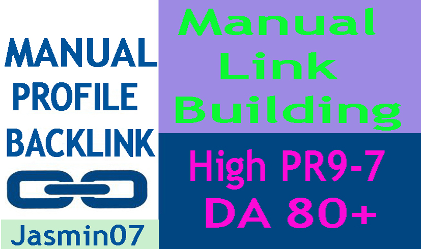 High Authority 30 Profile Backlink DA80+ PR9-7