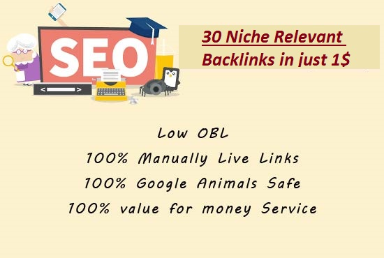 I will create 30 niche relevant blog comment backlinks