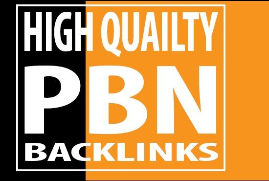 15 High DA PA TF CF HomePage PBN Backlinks - High Quality Dofollow Backlinks