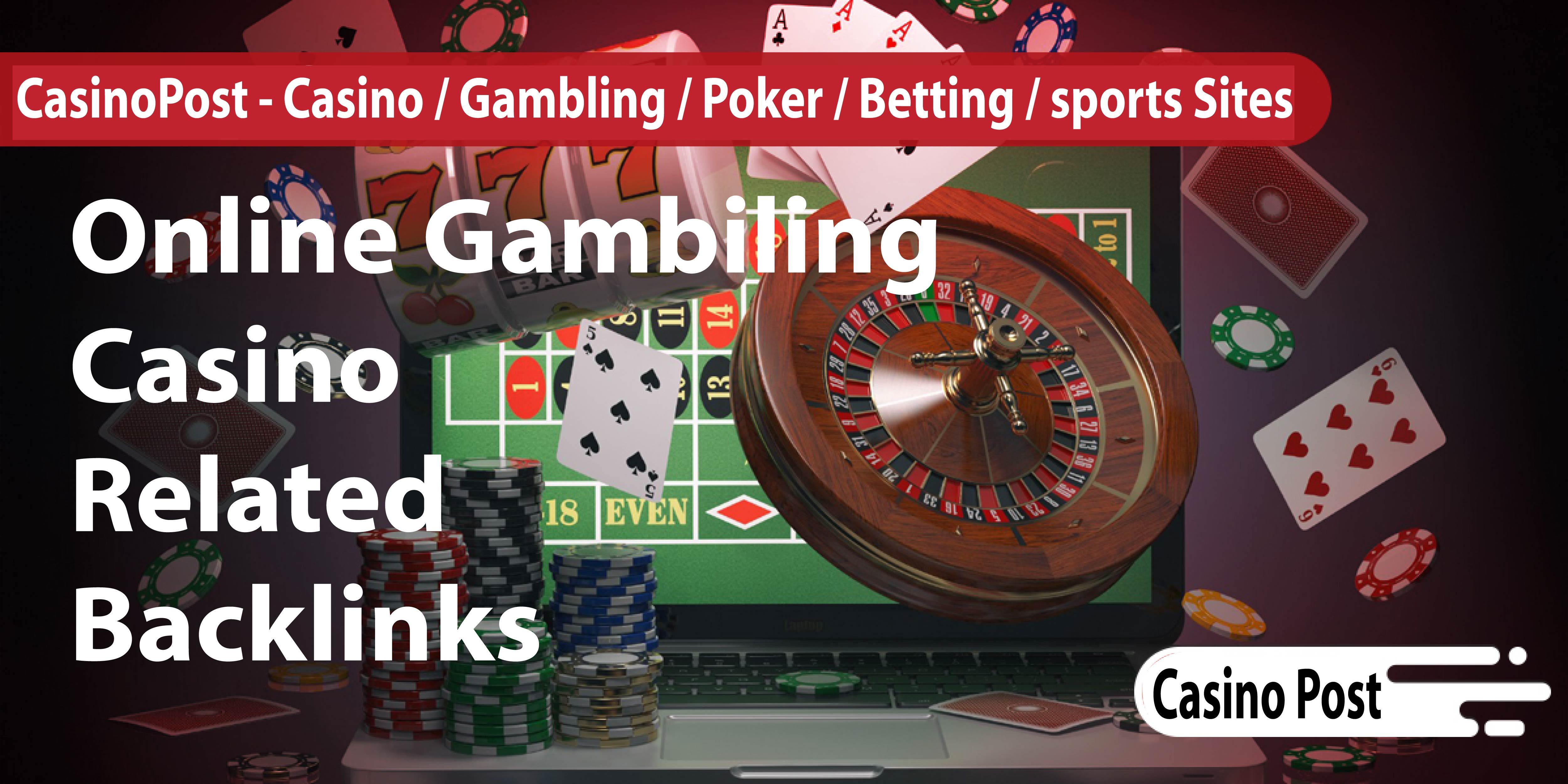 200 Casino & Gambling DA 38+ PA 40+ Web 2.0 From Casino / Gambling / Poker / Betting / sports sites