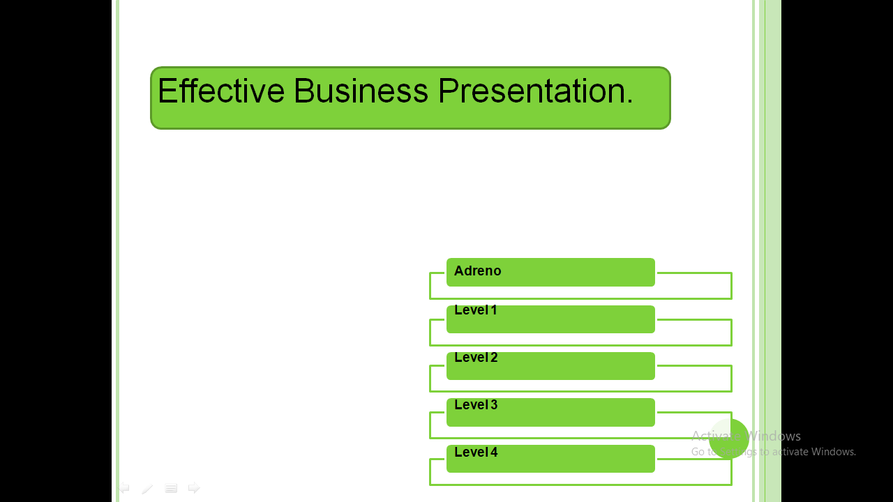 Professionally Design Presentation