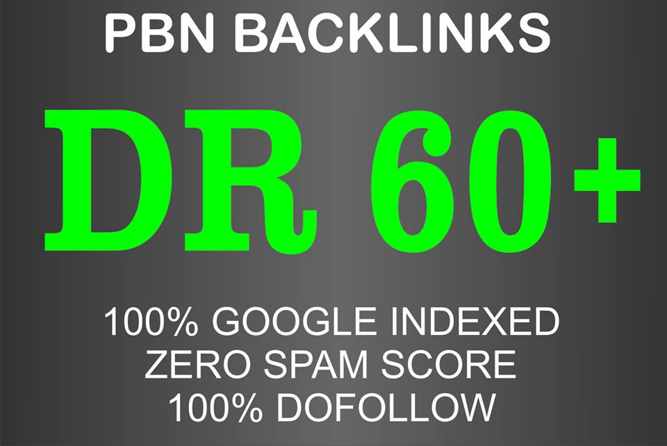 I will do 50 high DR dofollow pbn seo homepage backlinks