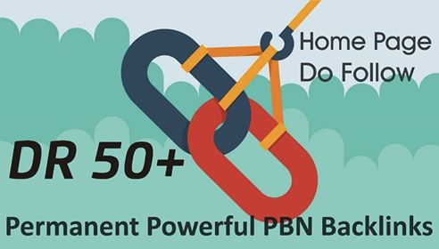 i will create 3 DR 50+ Homepage SEO Dofollow permanent pbn backlinks