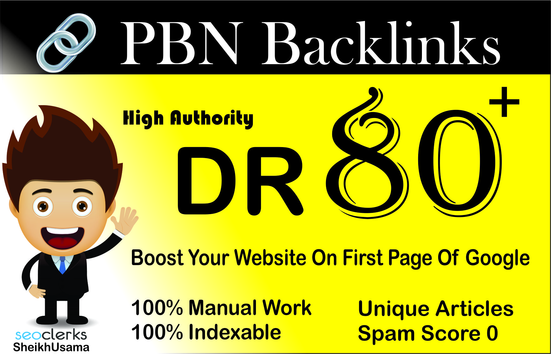 I Will Manually create,  Powerfull,  Permanent Homepage High Authority 1 DR 80 PBN Backlinks