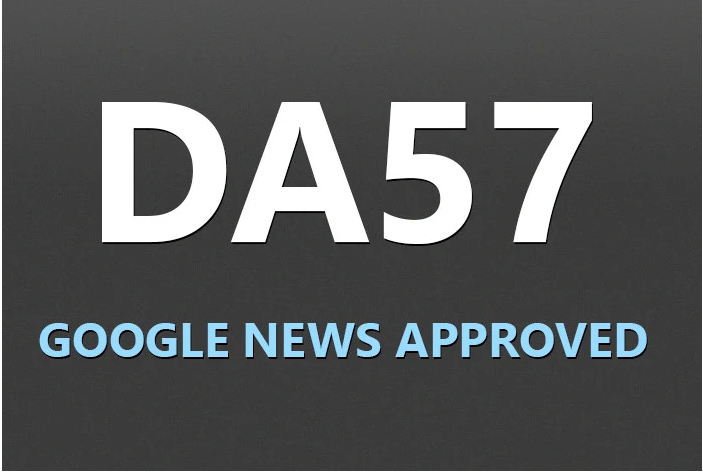 I will guest post on my da 57 google news approved website