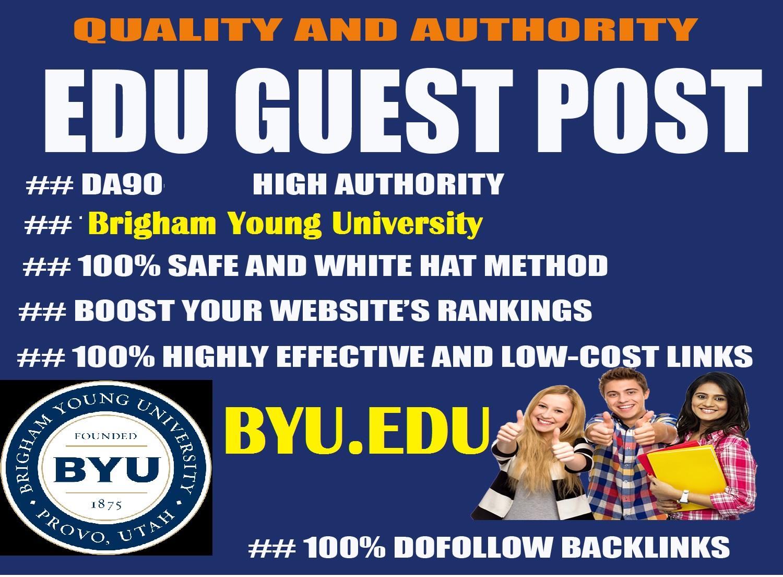 Guest Post on DA90 Brigham Young University,  Byu. edu