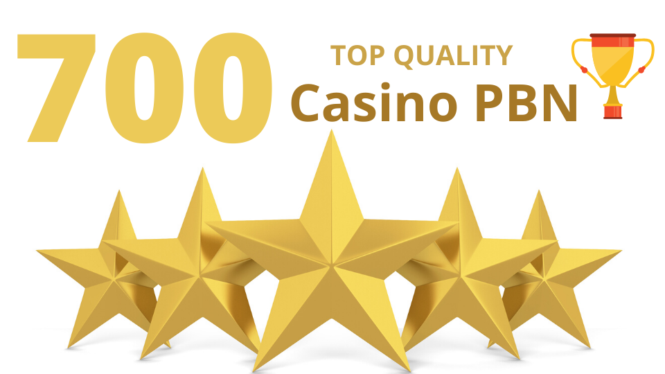 Top quality 700 Casino/Gambling/Poker/Betting web 2.0 Pbn from 700 unique sites