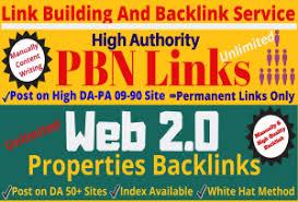 Do manually high da pbn links and web 2.0 backlinks