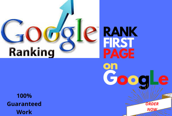 Guaranteed GOOGLE 1st Page Ranking service for your website