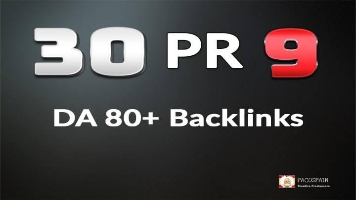 30 High DA 80+ Pr9 backlinks seo dofollow EDU Permanent