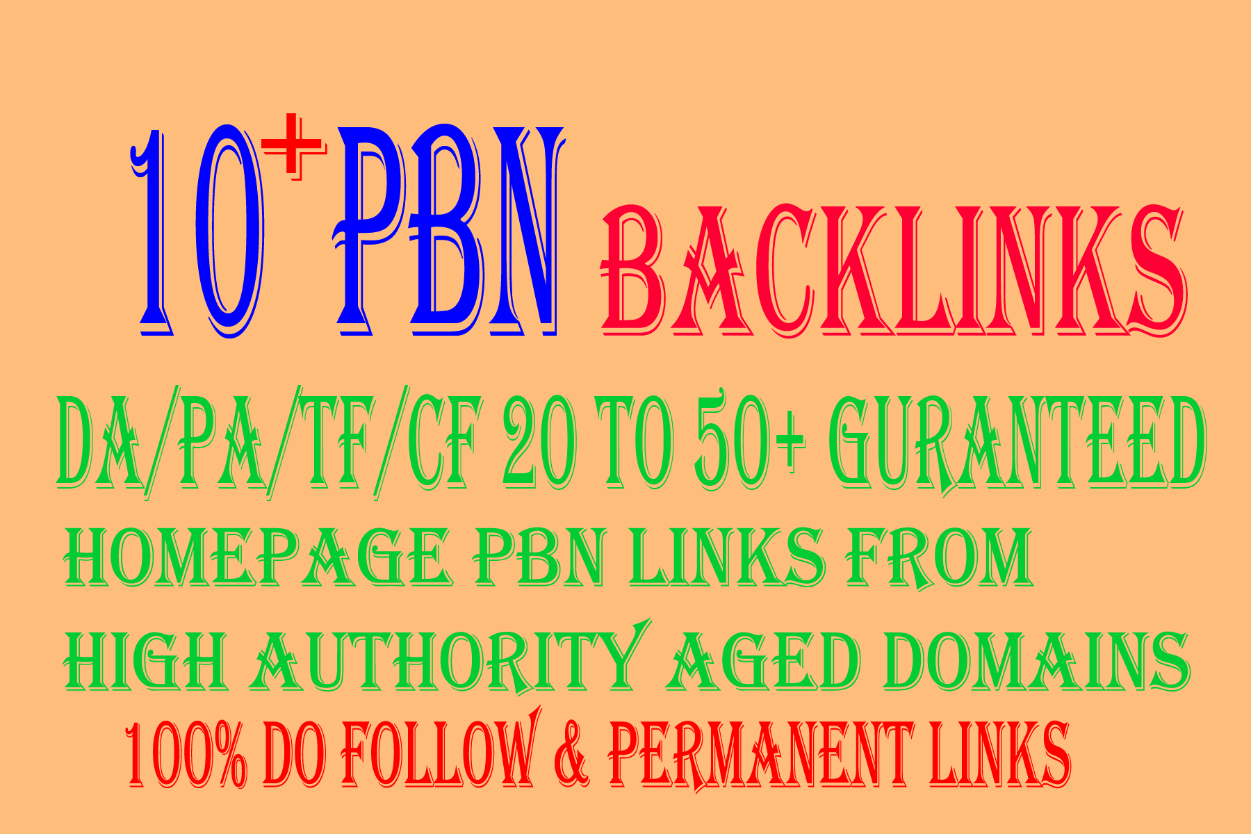 Build 10+ PBN Backlink with with High On your homepage with PA DA TF CF Unique website