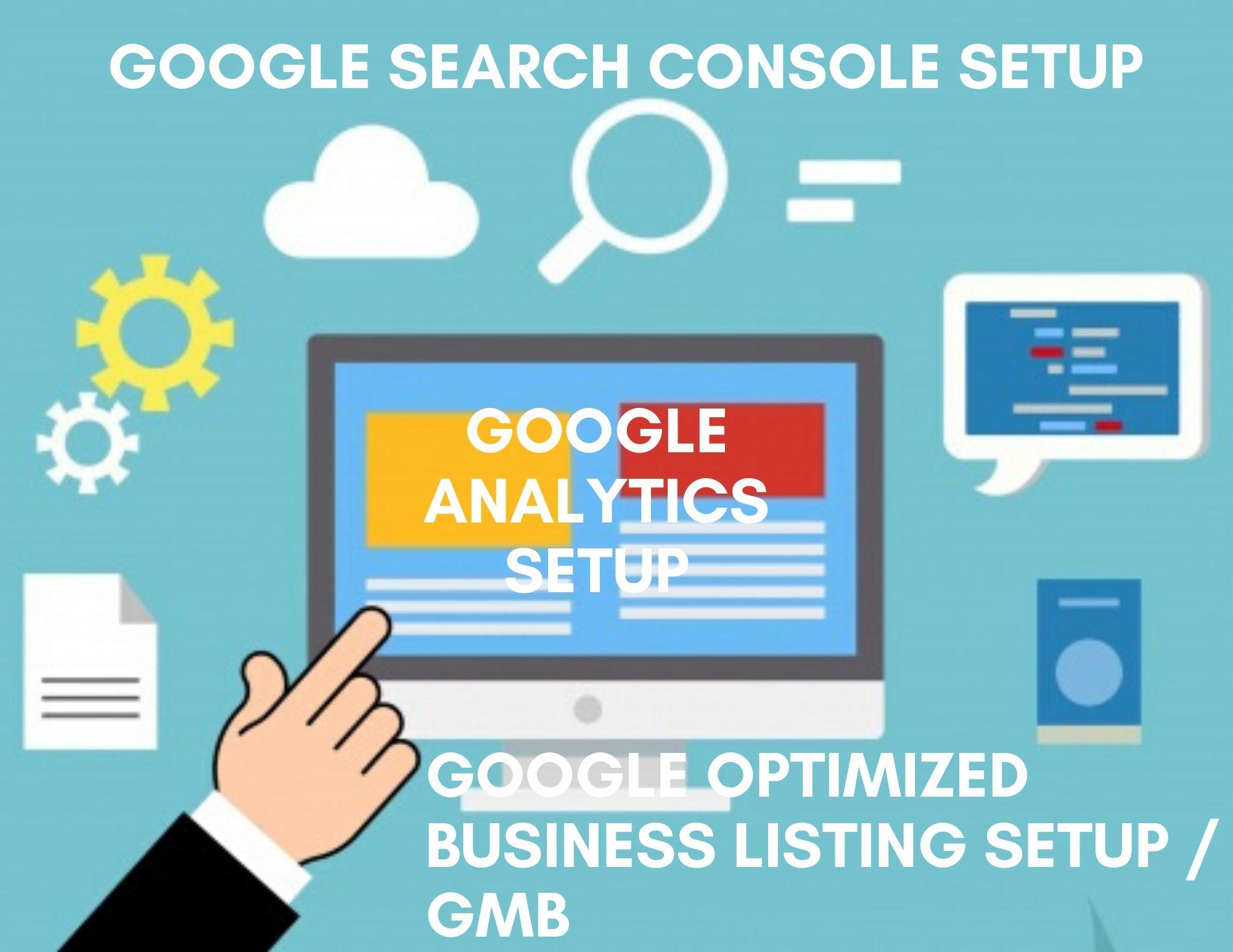 Setup Optimized Google Listing or Google My Business or GMB