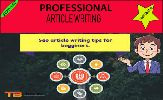 I will write original SEO articles in english language for your blog writing, content writing.