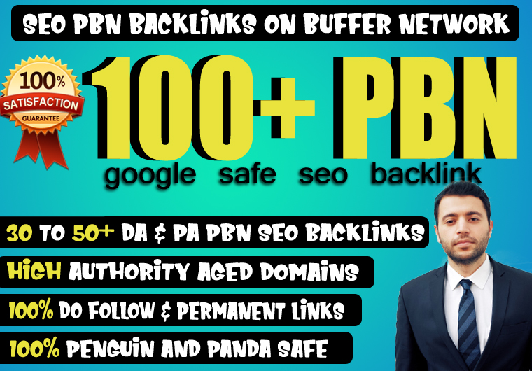 Provide 100+ High TF CF DA PA 30+ Dofollow PBN Backlink