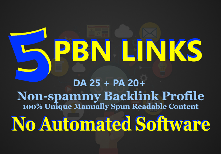 Build 5 PBN High 30 Plus DA PA CF TF Moz Authority Expired domain Backlinks