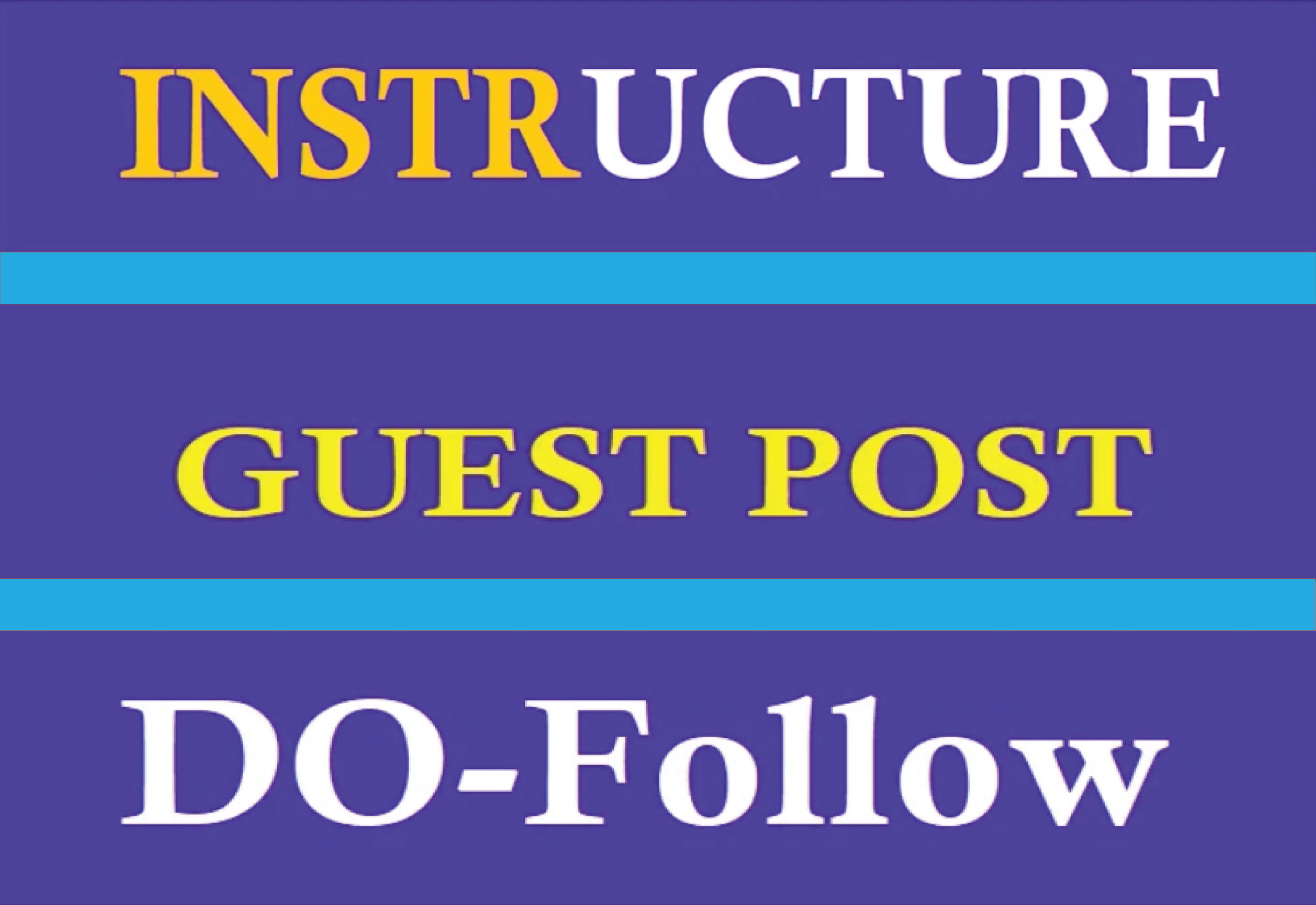 I will guest post on instructure with dofollow links