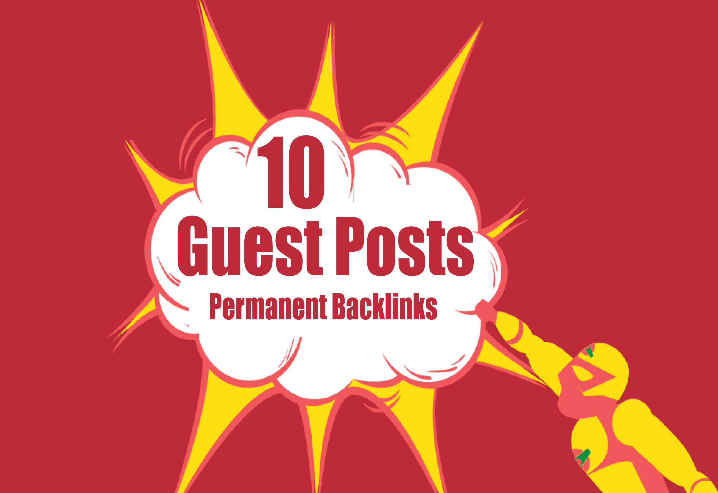 Publish 10 Guest Posts High DA 90+ websites Boost your SEO Ranking