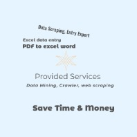 I will scrap websites,  data mining and collect emails