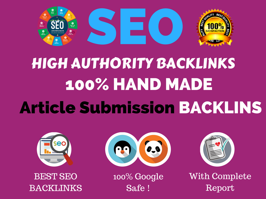 Provide 500 Article Submission Backlinks best for your seo