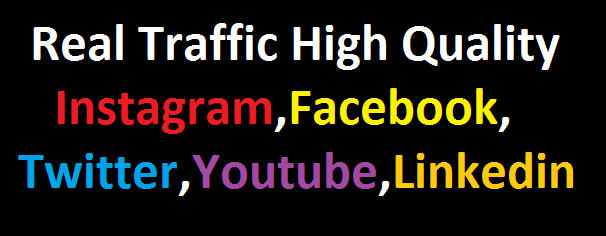 Send +600,000 Website Worldwide Traffic Instagram, Facebook, twitter, YouTube, Tracking Link Online