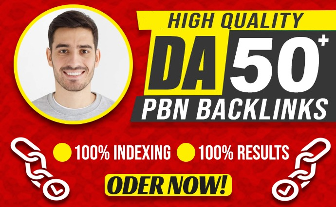 Create 5 High DA 50+ PBN Dofollow backlinks For Good SEO Results