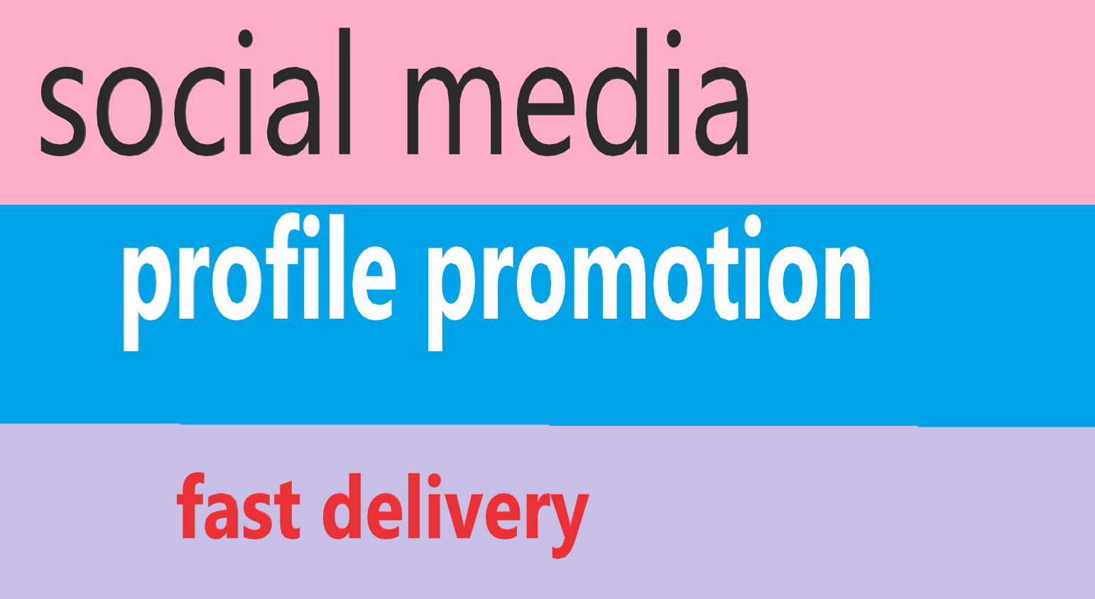 social media profile users promotion fast delivery