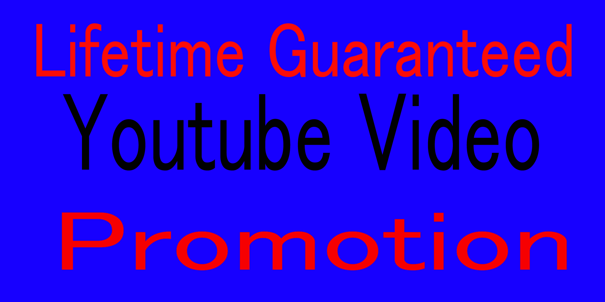 Increase HQ YouTube music and video promotion via social media marketing