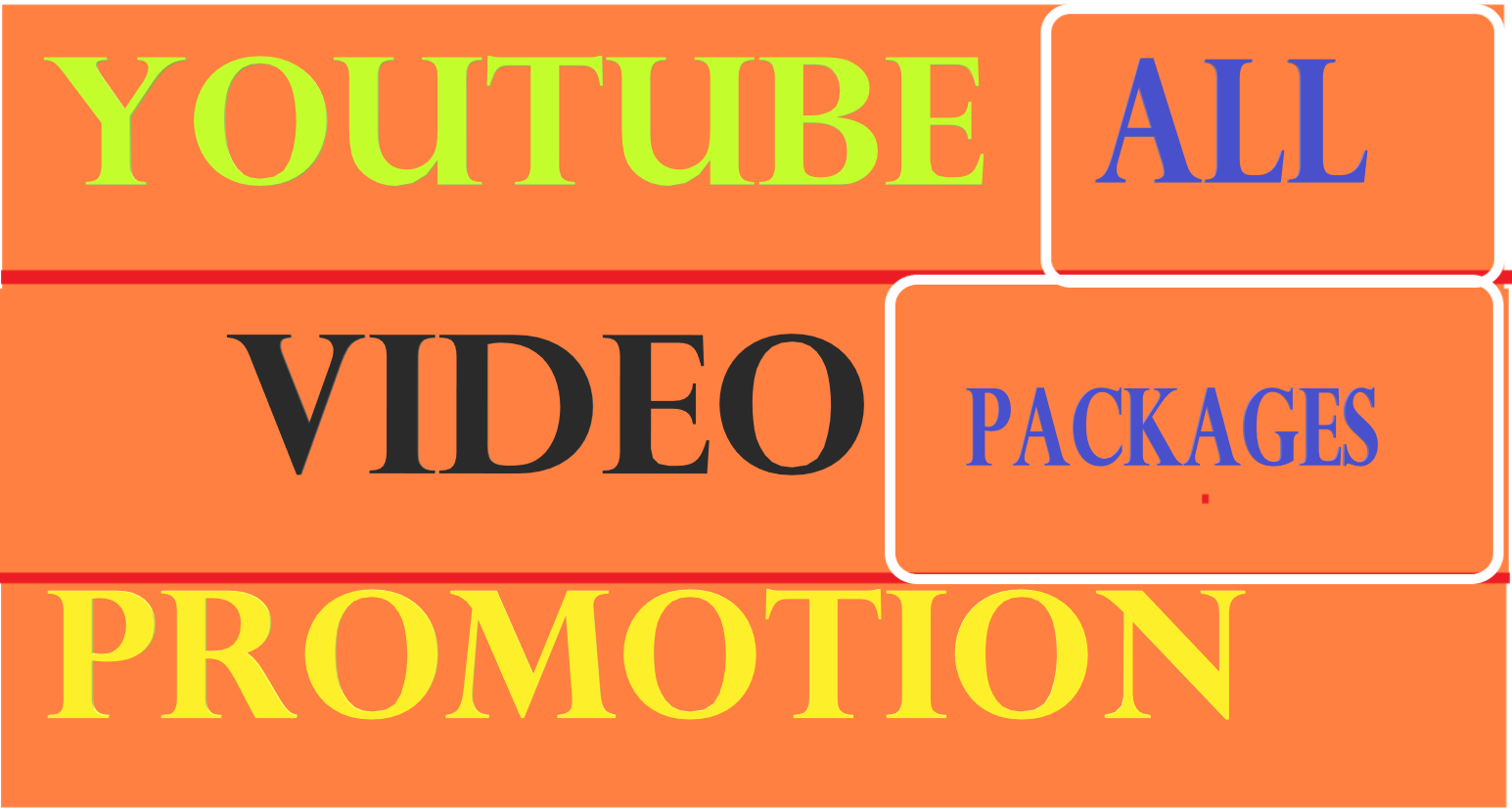 fast organic YouTube promotion all in one packages