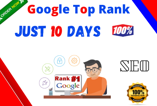 I Will Do Google top ranking your website with White hat SEO