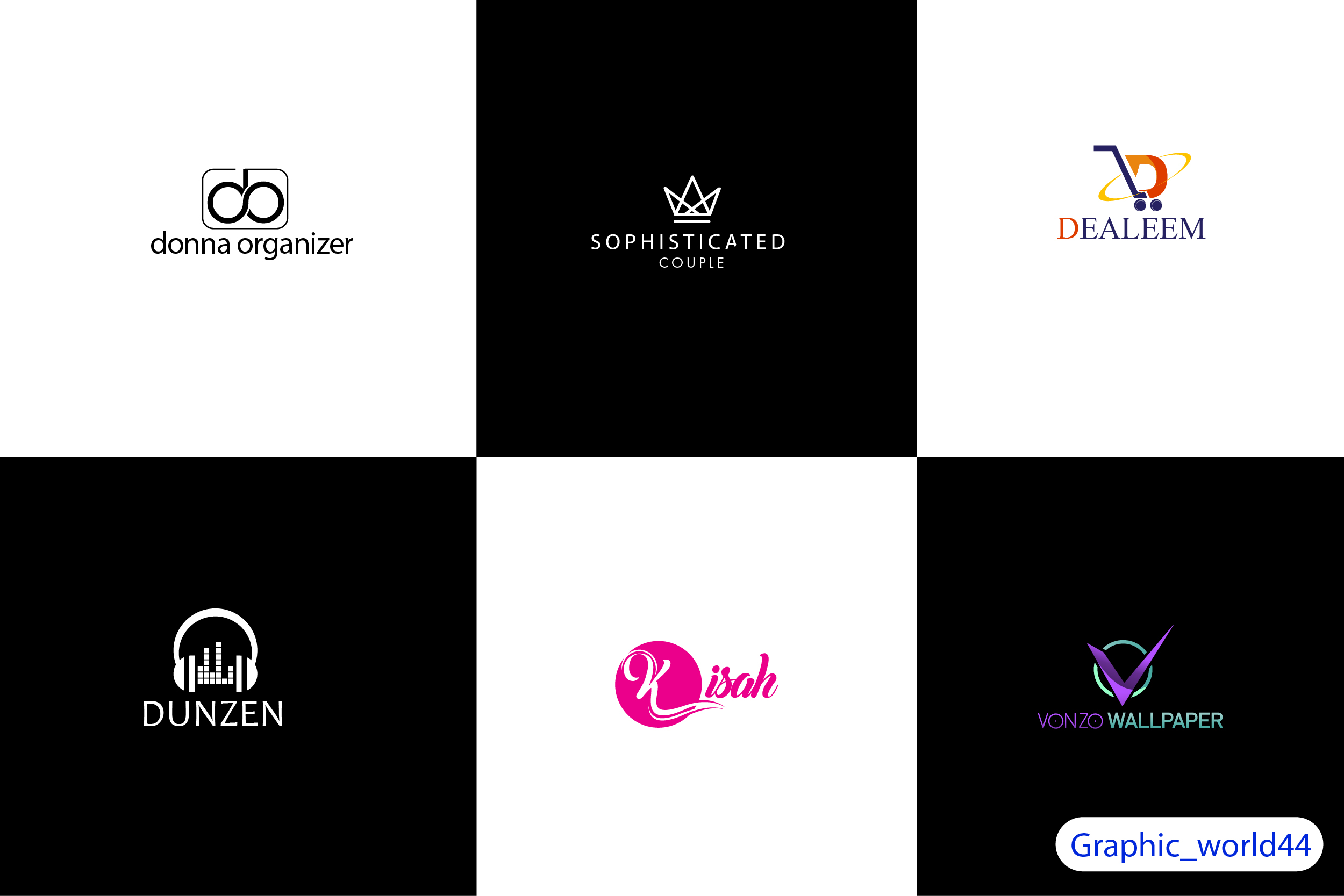 Get your Minimal Logo designed in 6hrs