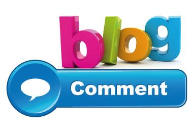 Build 50 Blog Comment SEO Backlinks On High DA Domain