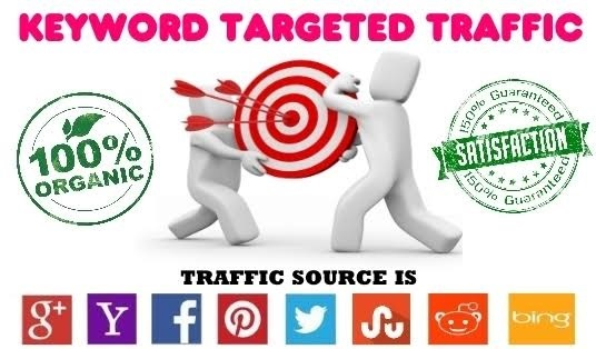 5000 Keywords Targeted Traffic to your website