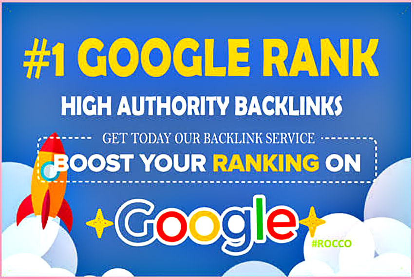 I will do high authority SEO backlinks service for fast google ranking