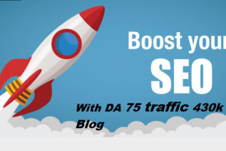 i wil drive unlimited traffic to your product site or blog
