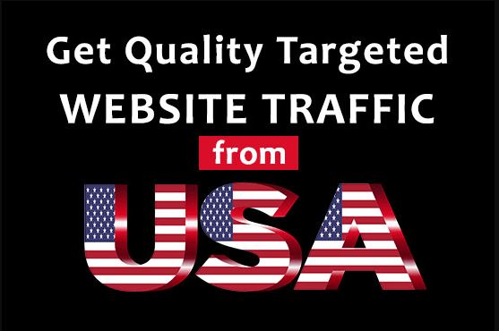 I Will Drive Targeted USA Web Traffic To Website, bog or product