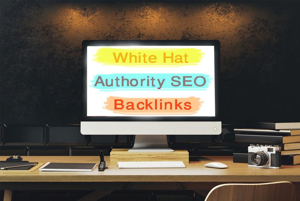 create 120 manual white hat authority SEO backlinks for google ranking