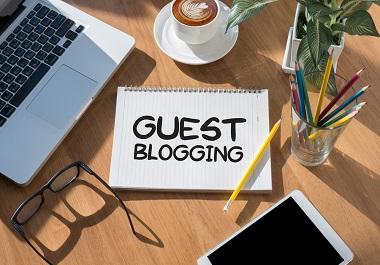 Write And Publish 5 Guest blog On DA 80 Plus Website