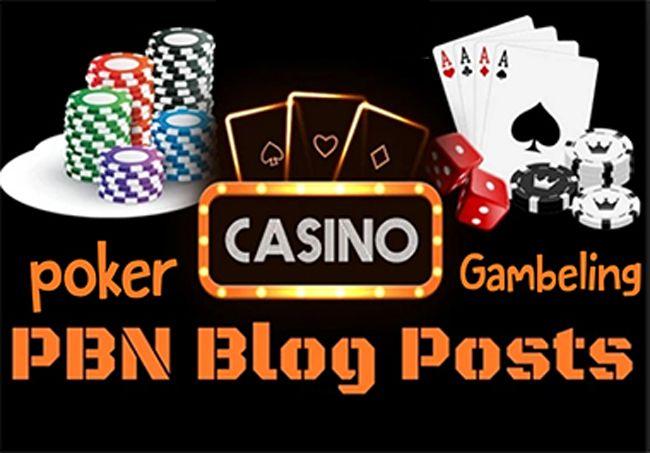 do 150 Casino Poker Gambling PBN Contextual Backlinks
