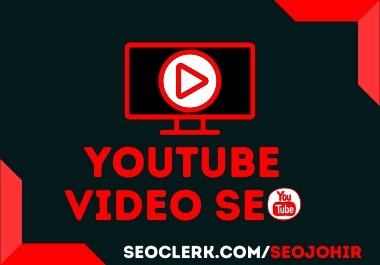 YouTube SEO Manually Rank Your Video 1st Page on YouTube
