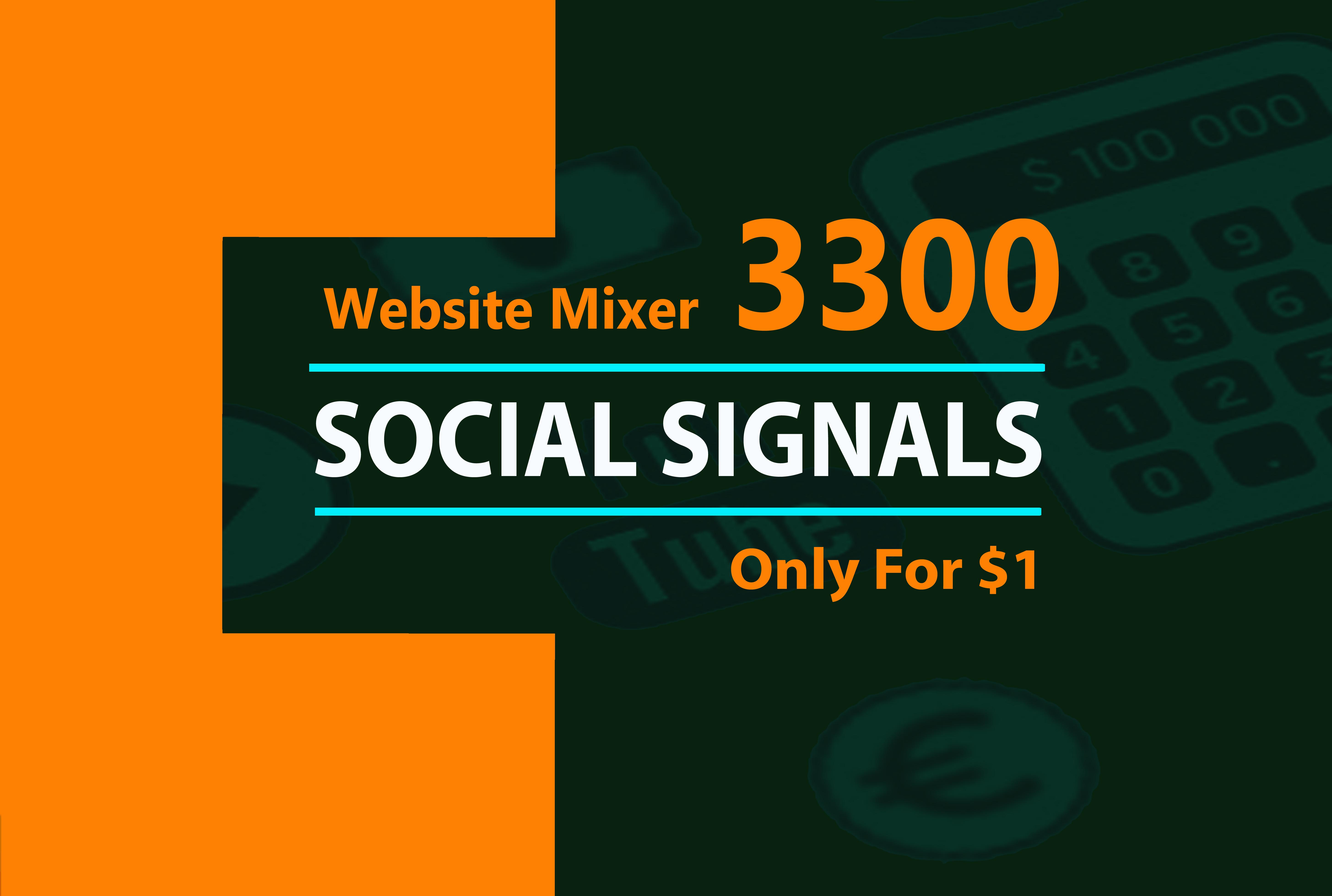 3300 website mixed social signals
