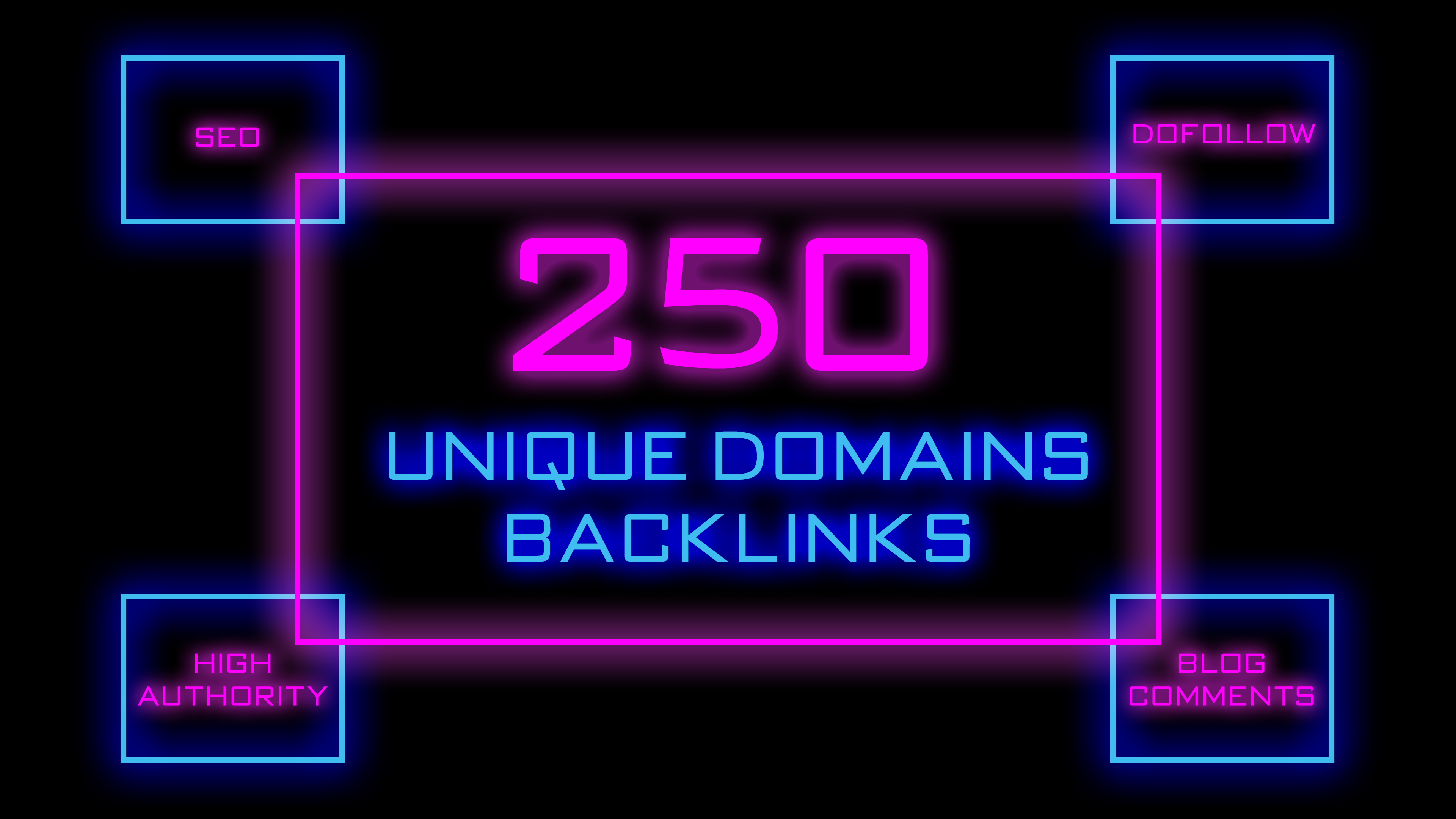 Skyrocket Your Website Rankings With 250 High Authority Unique Domains Backlinks