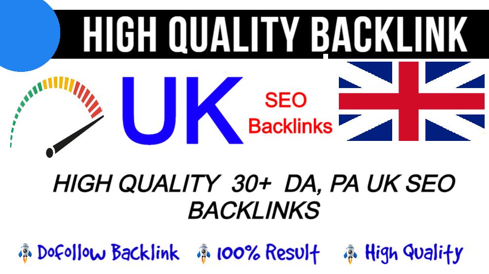 I Will Do 10 High Authority Hompage SEO UK PBN Backlinks On. Uk Domains